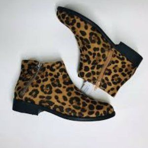 Cheetah Time and Tru Womens Boots